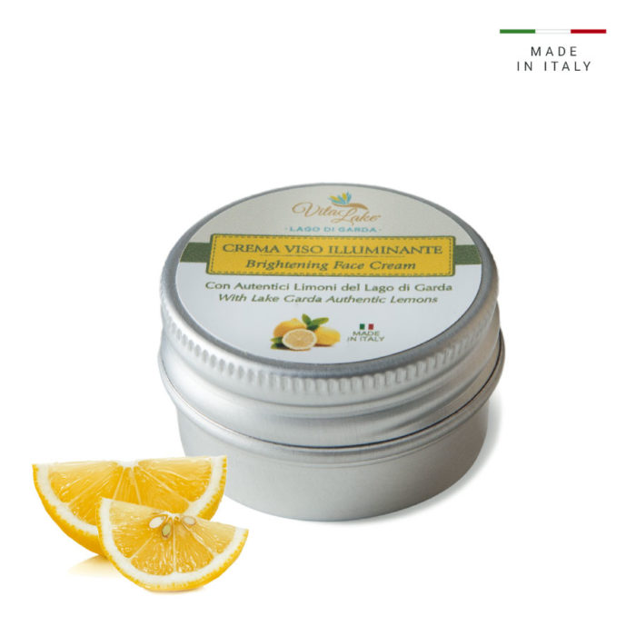 This fresh and light emulsion moisturizes and smooth face skin. Vita Lake Small travel size 15 ml with lemon