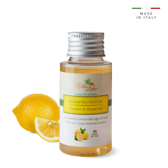 Are you traveling? shower shampoo with lemon juice Vitalake: the fresh and sparkling notes of lemon give a pleasant sensation of well-being and energy.