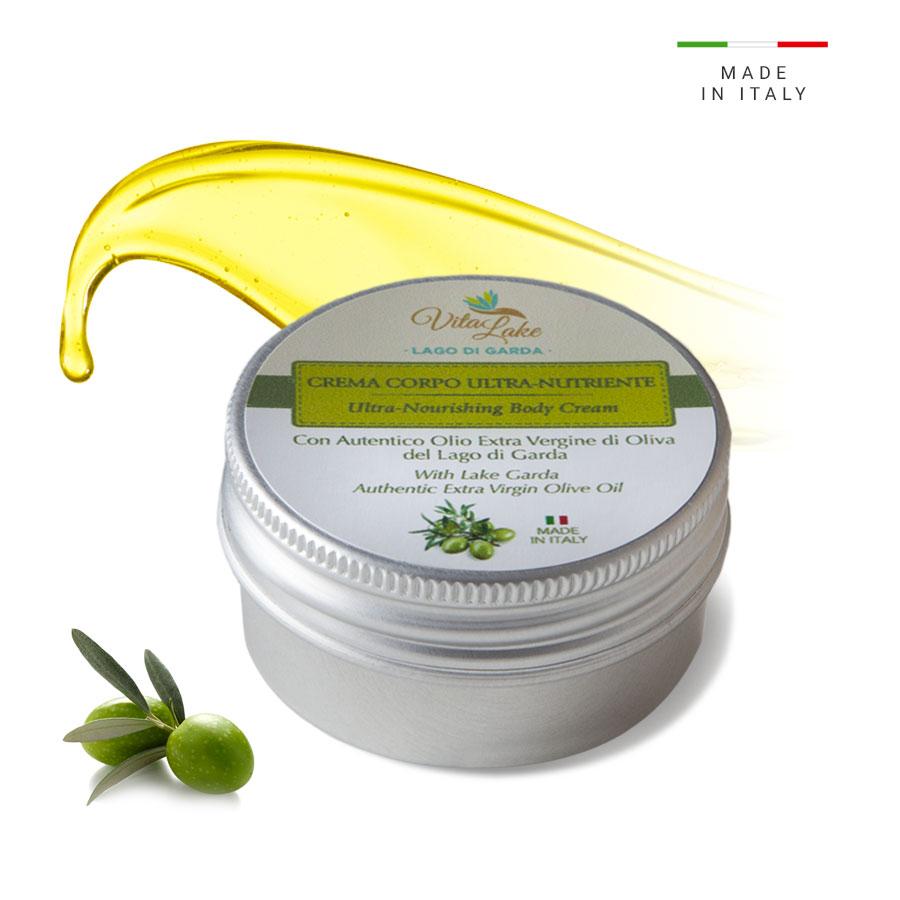 Ultra nourishing body cream Vitalake. This creamy emulsion is ultra-nourishin and repairing with Evo Olive Oil