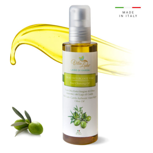Face-cleansing-oil-Evo Olive Oil, cleanses and removes make-up by affinity, removing impurities and make-up in an effective and ultra delicate way.