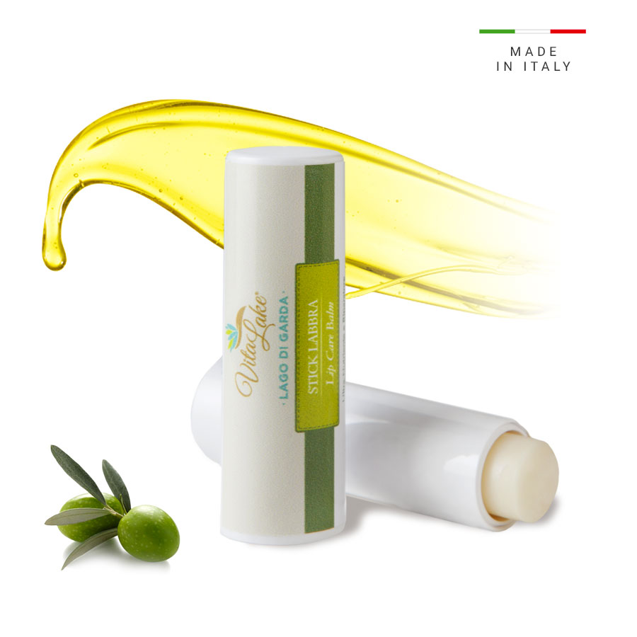 Nourishing Lip care balm with Evo olive Oil  Vitalake. It has a strong nourishing and reparing action for dry and chapped lips.