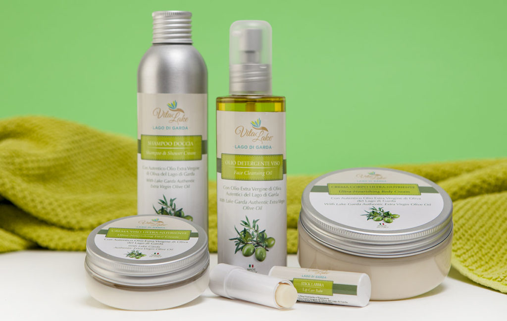 olive oil is used in natural cosmetics for its emollient and regenerative properties